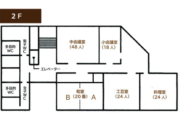 2階の見取り図